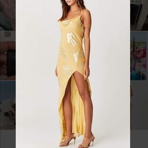 Jen's Pirate Booty Madeira Slip Dress in Yellow